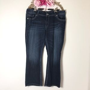 Silver Jeans Suki Boot cut Jeans